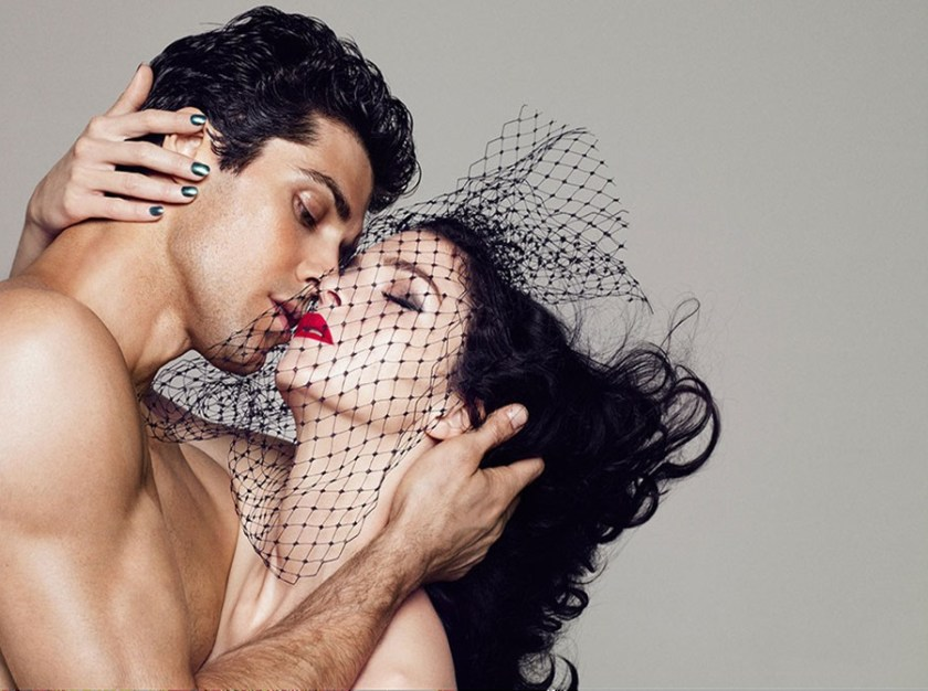 STYLE REWIND Roberto Bolle & Mariacarla Boscono for Hercules Fall 2010 by Paola Kudacki. Francesco Sourigues, www.imageamplified.com, Image Amplified (1)
