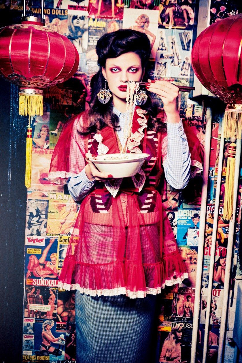 VOGUE JAPAN Milan Van Eeten by Ellen von Unwerth. Alice Gentilucci, June 2016, www.imageamplified.com, Image Amplified (4)