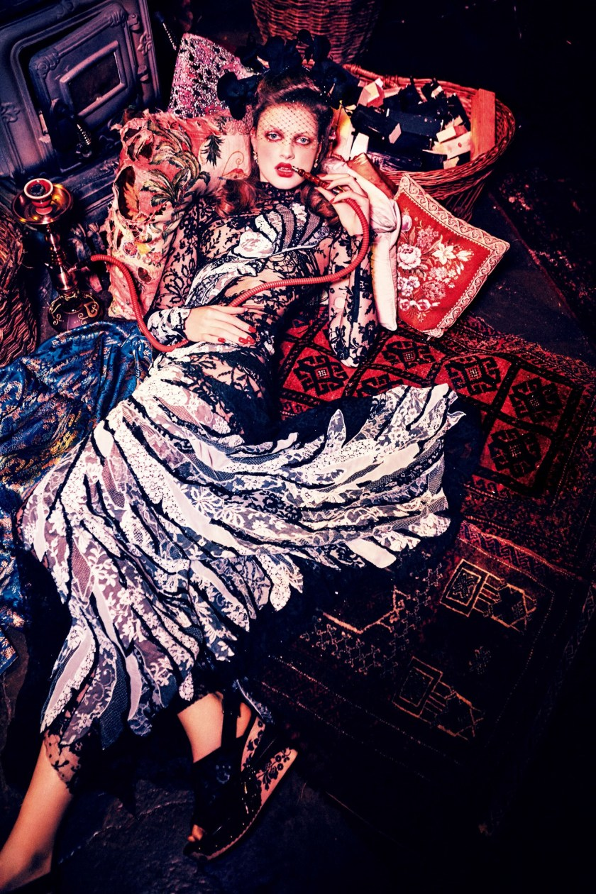 VOGUE JAPAN Milan Van Eeten by Ellen von Unwerth. Alice Gentilucci, June 2016, www.imageamplified.com, Image Amplified (5)