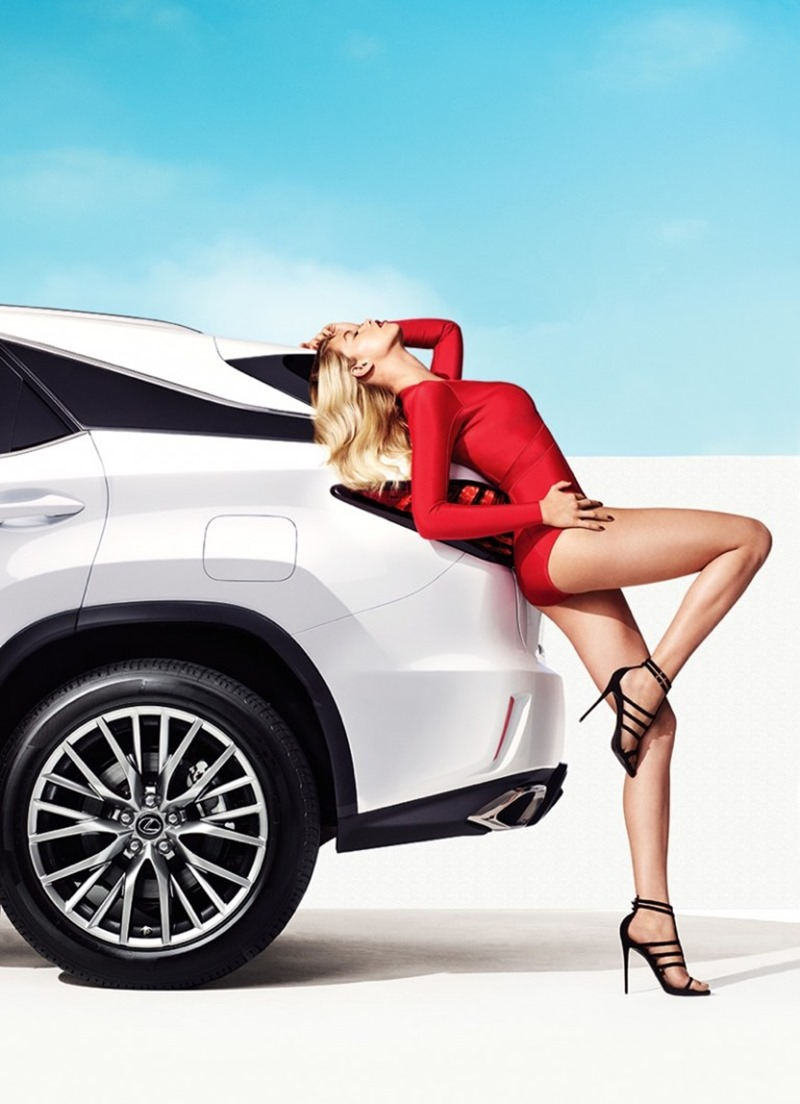 CAMPAIGN Hailey Clauson for Lexus RX 2016 by Nino Munoz. www.imageamplified.com, Image Amplified (1)