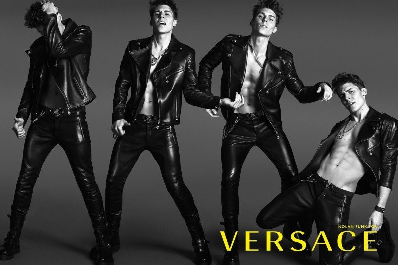 CAMPAIGN Nolan Gerard Funk for Versace Spring 2014 by Mert & Marcus. www.imageamplified.com,m Image Amplified (4)