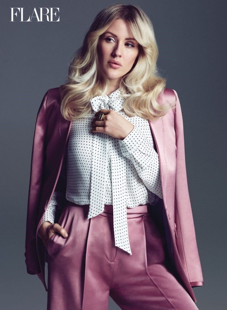 FLARE MAGAZINE Ellie Goulding by Nino Munoz. Pegah Maleknejad, Summer 2016, www.imageamplified.com, Image Amplified (3)