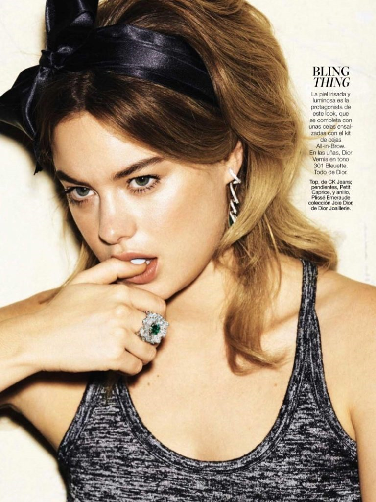 GLAMOUR SPAIN Camille Rowe by Paul Bellaart. Chiti Garcia, May 2016, www.imageamplified.com, Image Amplified (2)