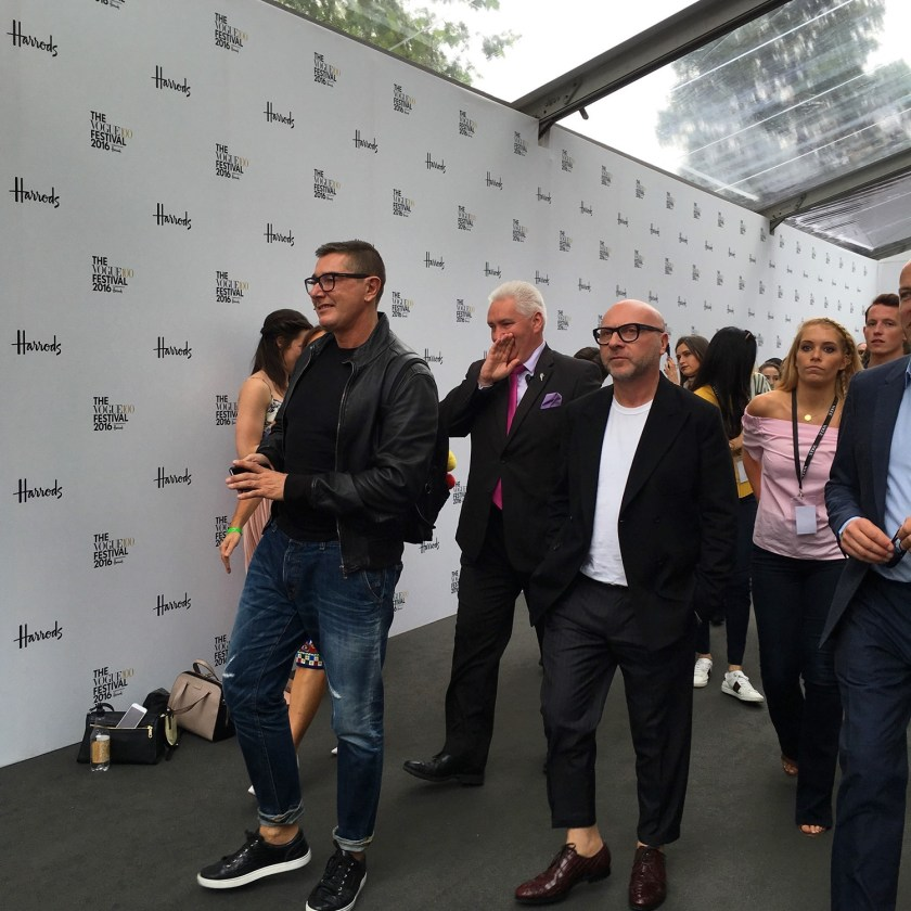 IA UPDATE Domenico Dolce & Stefano Gabbana, Dolce & Gabbana's Italian Journe with Alexandra Shulman at Vogue Festival 2016 by Troy Wise & Rick Guzman. www.imageamplified.com, Image Amplified (16)