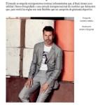 ICON MAGAZINE: Reflexiones y Estiramientos by Daniel Riera
