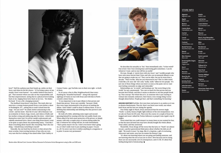 OUT MAGAZINE Troye Sivan by Kai Z Feng. Spring 2016, www.imageamplified.com, Image Amplified (5)