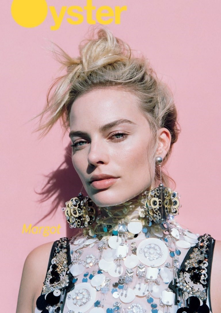 OYSTER MAGAZINE Margot Robbie by Max Doyle. Naomi Smith, Spring 2016, www.imageamplified.com, Image Amplified (1)
