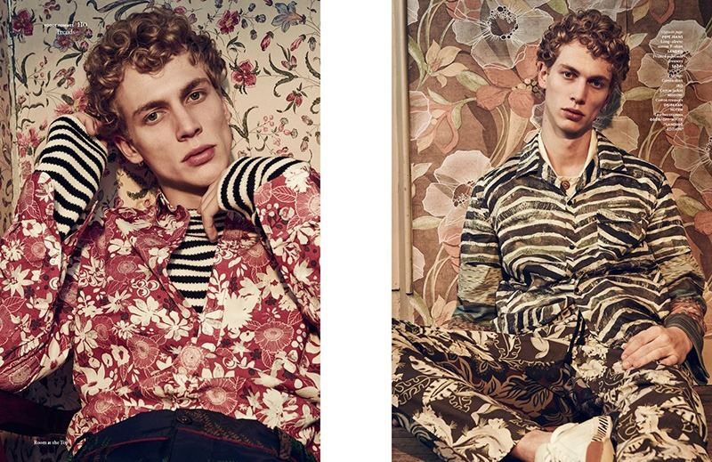 VOGUE HOMMES INTERNATIONAL Robbie G by Sharif Hamza. Darcy Backlar, Spring 2016, www.imageamplified.com, Image Amplified (3)