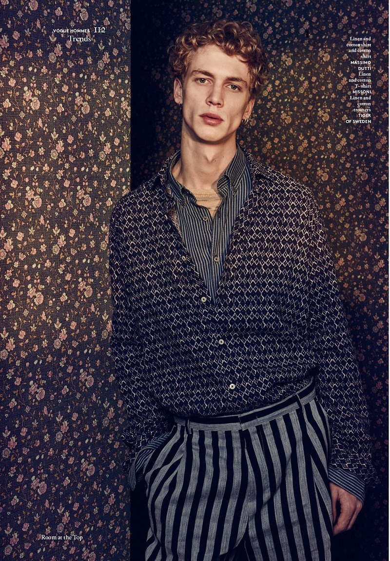 VOGUE HOMMES INTERNATIONAL Robbie G by Sharif Hamza. Darcy Backlar, Spring 2016, www.imageamplified.com, Image Amplified (6)