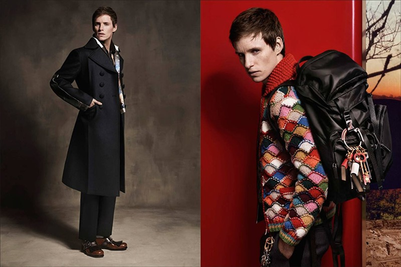 CAMPAIGN Eddie Redmayne for Prada Fall 2016 by Craig McDean. www.imageamplified.com, Image Amplified (2)