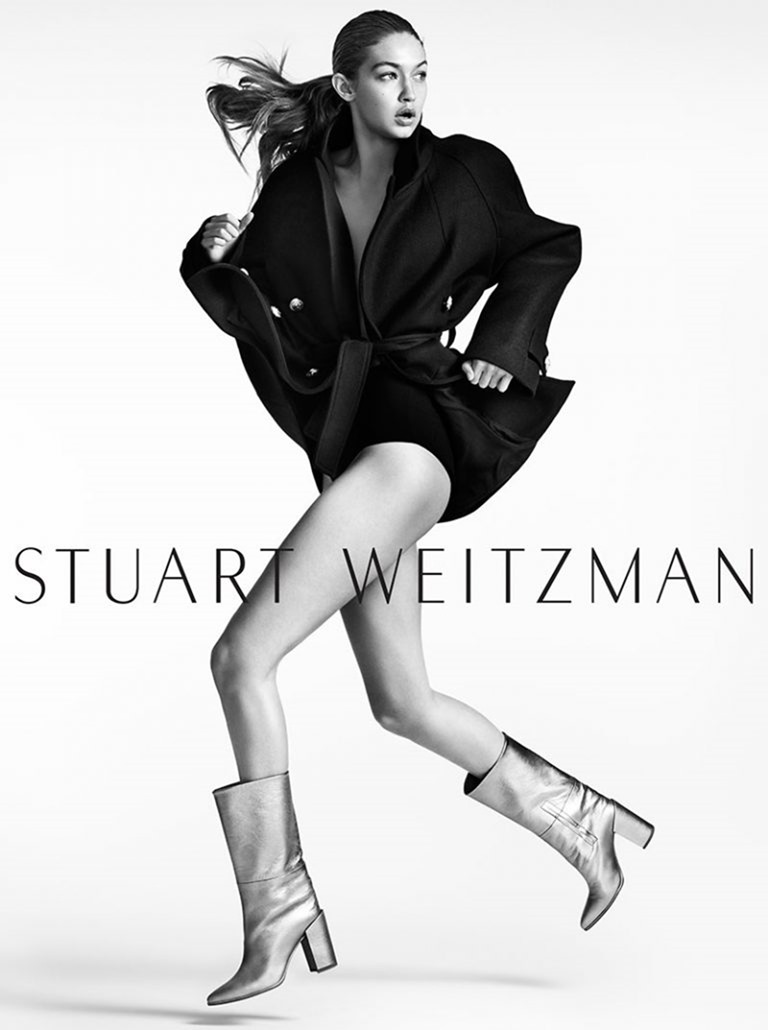 CAMPAIGN Gigi Hadid for Stuart Weitzman Fall 2016 by Mario Testino. www.imageamplified.com, image Amplified (2)