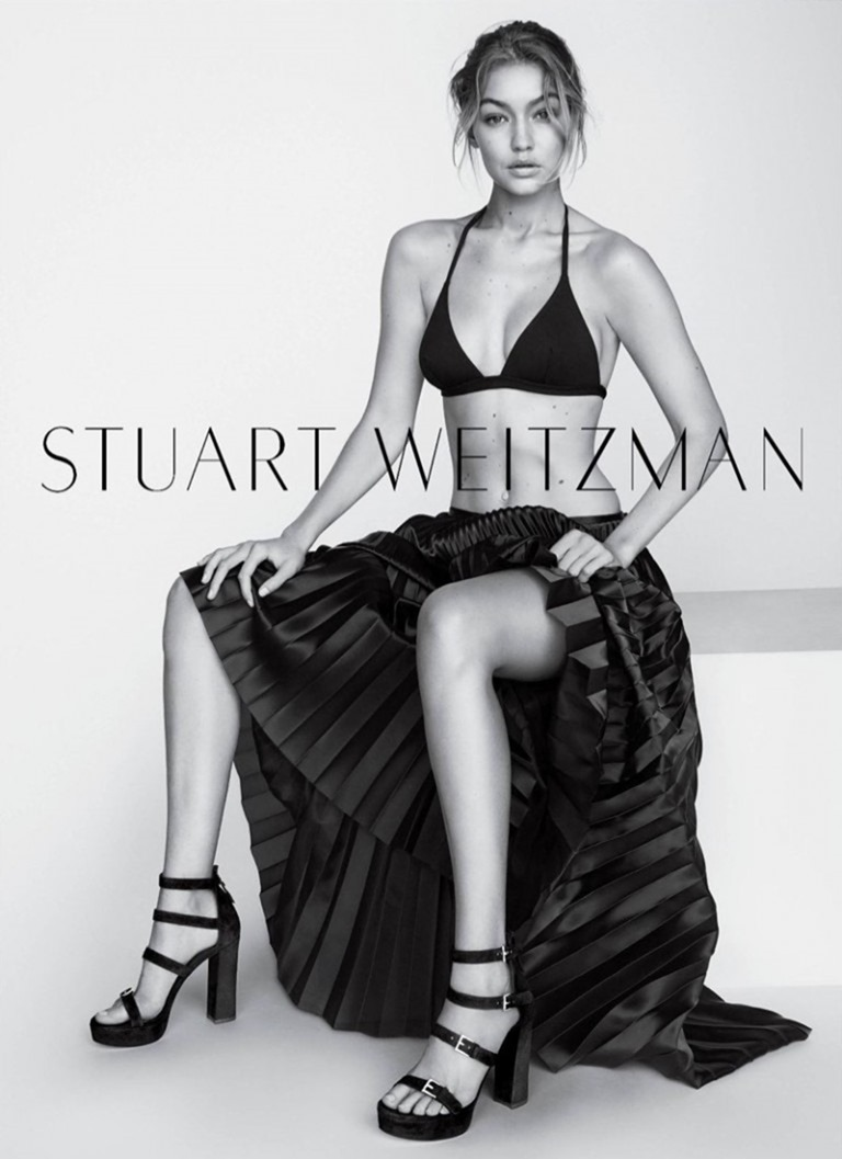 CAMPAIGN Gigi Hadid for Stuart Weitzman Fall 2016 by Mario Testino. www.imageamplified.com, image Amplified (4)
