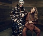 CAMPAIGN: Iris Apfel & Toni Garrn for Aigner Fall 2016 by Terry Tsiolis