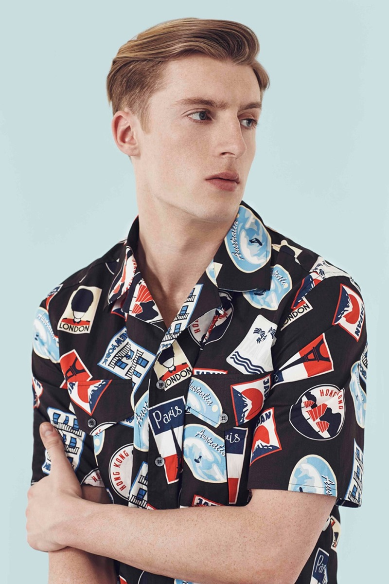 CAMPAIGN Maison Kitsune x Mr Porter 2016. www.imageamplified.com, Image Amplified (2)