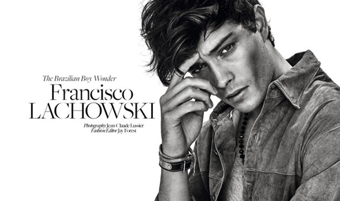 DRESS TO KILL MAGAZINE Francisco Lachowski by Jean-Claude Lussier. Jay Forest, Spring 2016, www.imageamplified.com, Image Amplified (1)