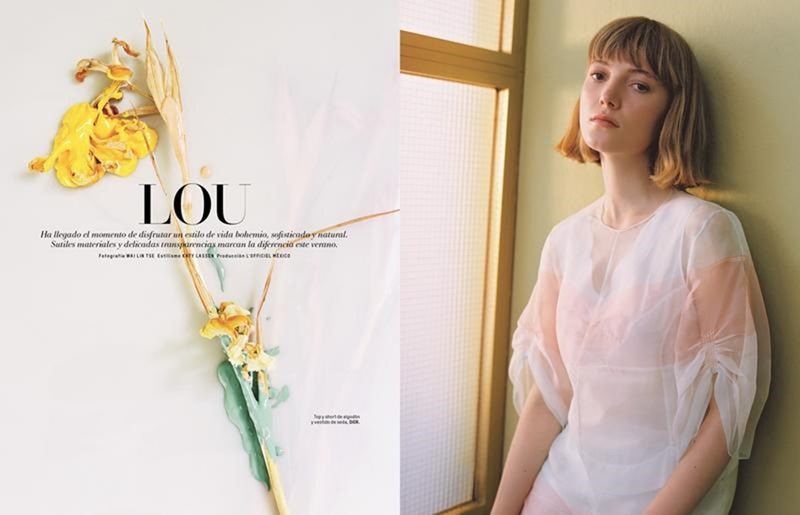 L'OFFICIEL MEXICO Lou Schoof by Wai Lin Tse. Katy Lassen, June 2016, www.imageamplified.com, Image Amplified (5)