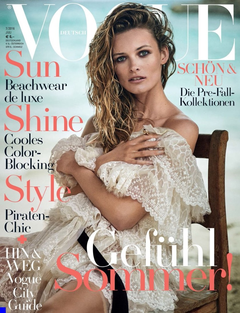 VOGUE GERMANY Edita Vilkeviciute by Boo George. Christiane Arp, July 2016, www.imageamplified.com, Image Amplified (1)