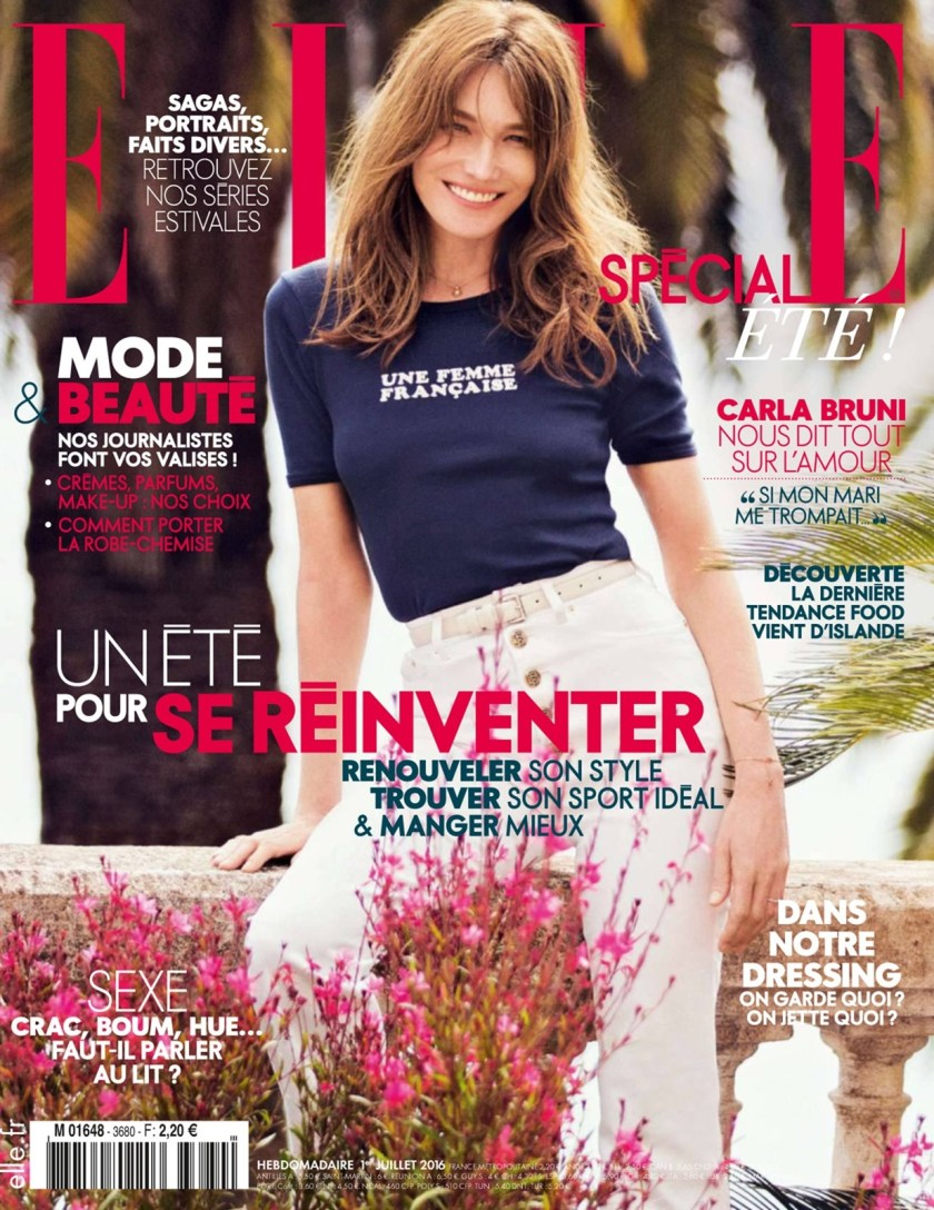 ELLE FRANCE Carla Bruni by David Bellemere. Hortense Manga, July 2016, www.imageamplified.com, Image Amplified (1)