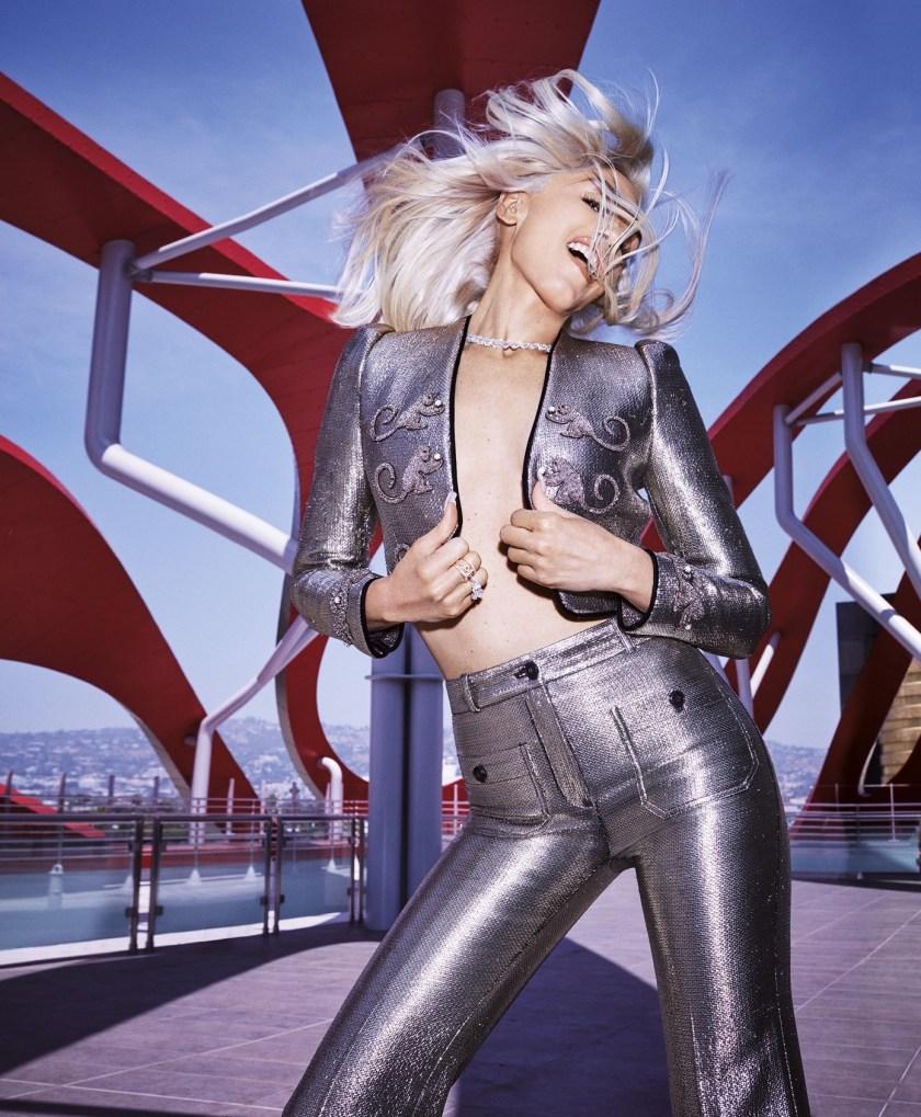 HARPER'S BAZAAR MAGAZINE Gwen Stefani by Alexi Lubomirski. Natasha Royt, August 2016, www.imageamplified.com, Image Amplified (1)
