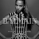 CAMPAIGN: Noemie Lenoir for Balmain Hair Couture Fall 2016 by Jean-Baptiste Mondino