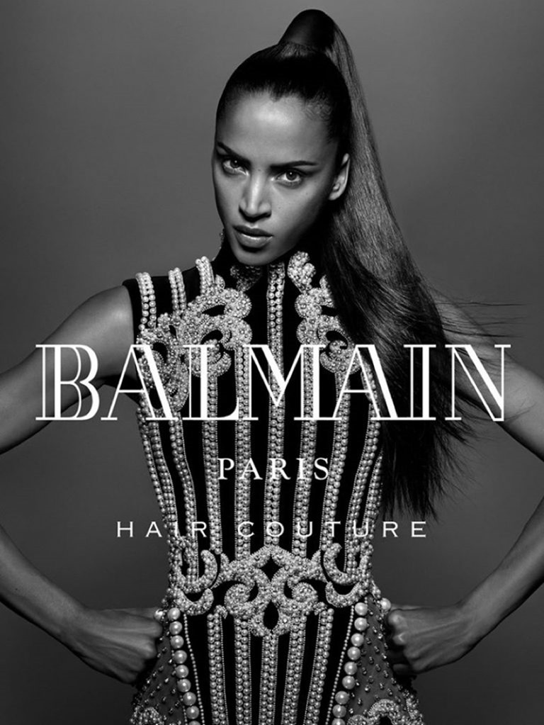 CAMPAIGN Noemie Lenoir for Balmain hair Couture Fall 2016 by Jean-Baptiste Mondino. www.imageamplified.com, Image Amplified (1)