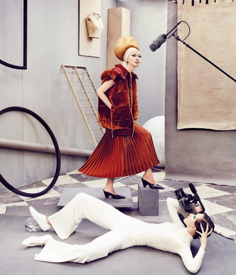 CAMPAIGN Pat & Anna Cleveland for Neiman Marcus Fall 2016 by Ruven AFanador. www.imageamplified.com, Image Amplified (9)