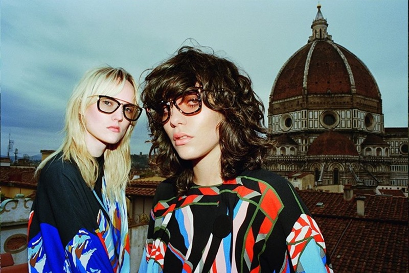 CAMPAIGN Steffy Argelich & Harleth Kuusik for Emilio Pucci Fall 2016 by Cameron McCool. Vittoria Cerciello, www.imageamplified.com, Image Amplified3