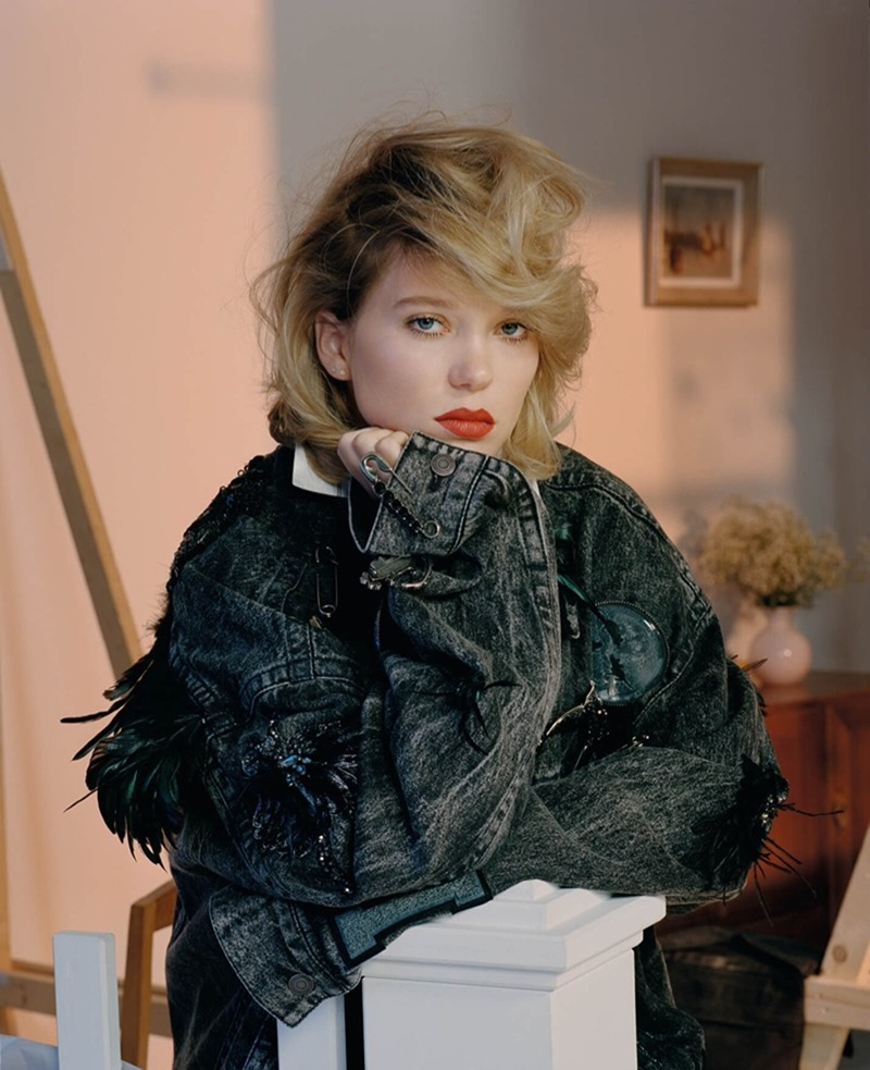 DAZED DIGITAL Lea Seydoux by Mark Peckmezian. Katie Shillingford, Fall 2016, www.imageamplified.com, Image Amplified (8)