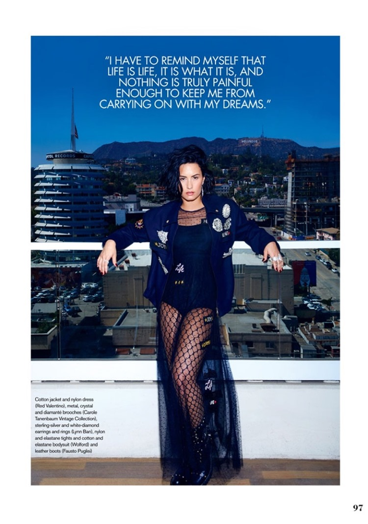 ELLE CANADA Demi Lovato by Max Abadian. Juliana Schiavinatto, September 2016, www.imageamplified.com, image Amplified4