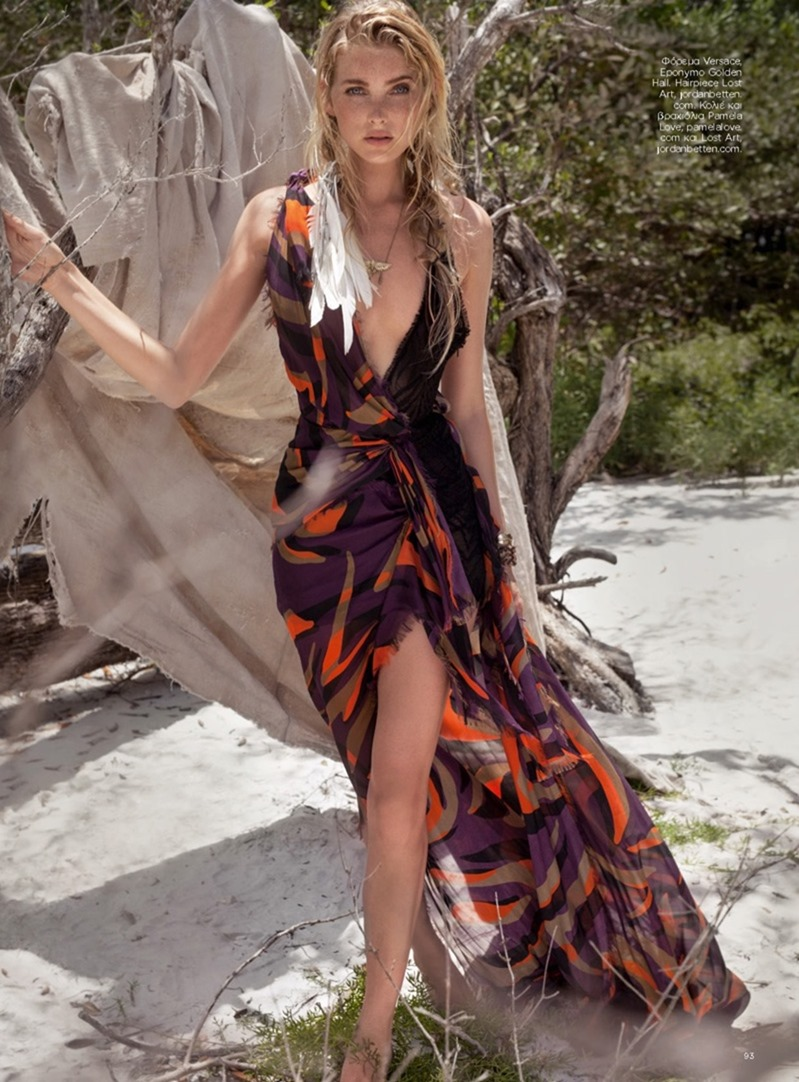 HARPER'S BAZAAR GREECE Elsa Hosk by Taylor Tupy. Sandy Armeni, August 2016, www.imageamplified.com, Image Amplified9