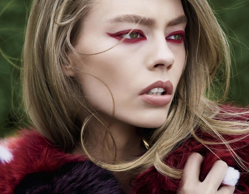 HARPER'S BAZAAR MAGAZINE Ondria Hardin by Carter Smith. Paul Cavaco, September 2016, www.imageamplified.com, Image Amplified3