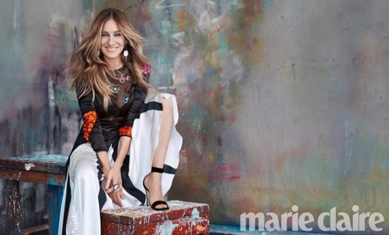 MARIE CLAIRE MAGAZINE Sarah Jessica Parker by MIchelangelo di Battista. September 2016, www.imageamplified.com, Image Amplified (4)
