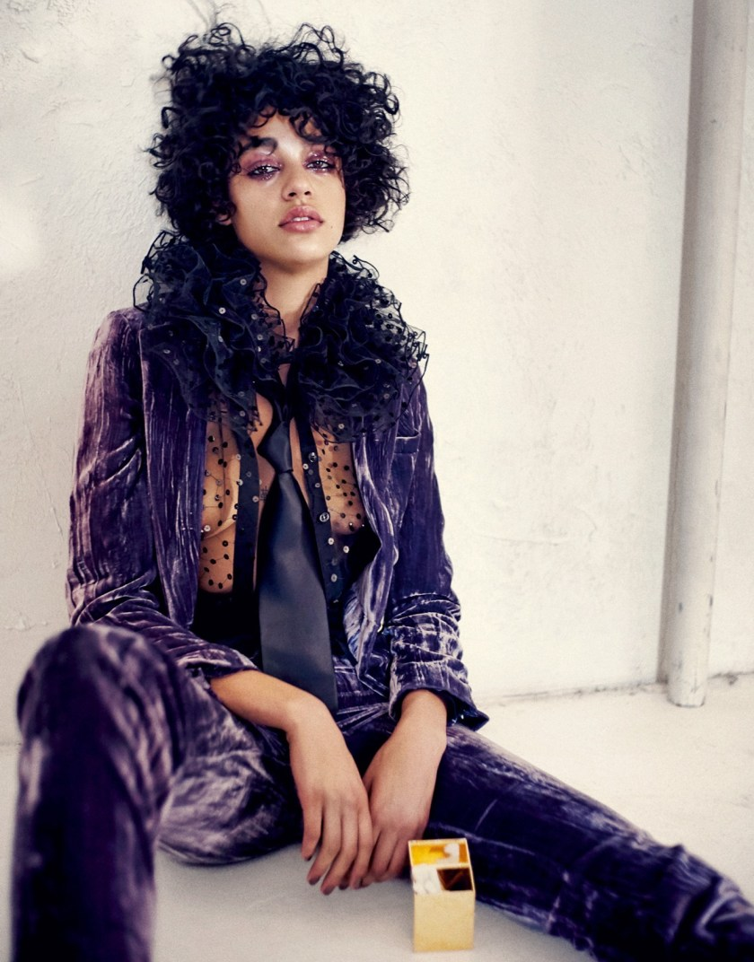 PORTER MAGAZINE Damaris Goddrie by Drew Jarrett. Julia von Boehm, Fall 2016, www.imageamplified.com, Image Amplified2
