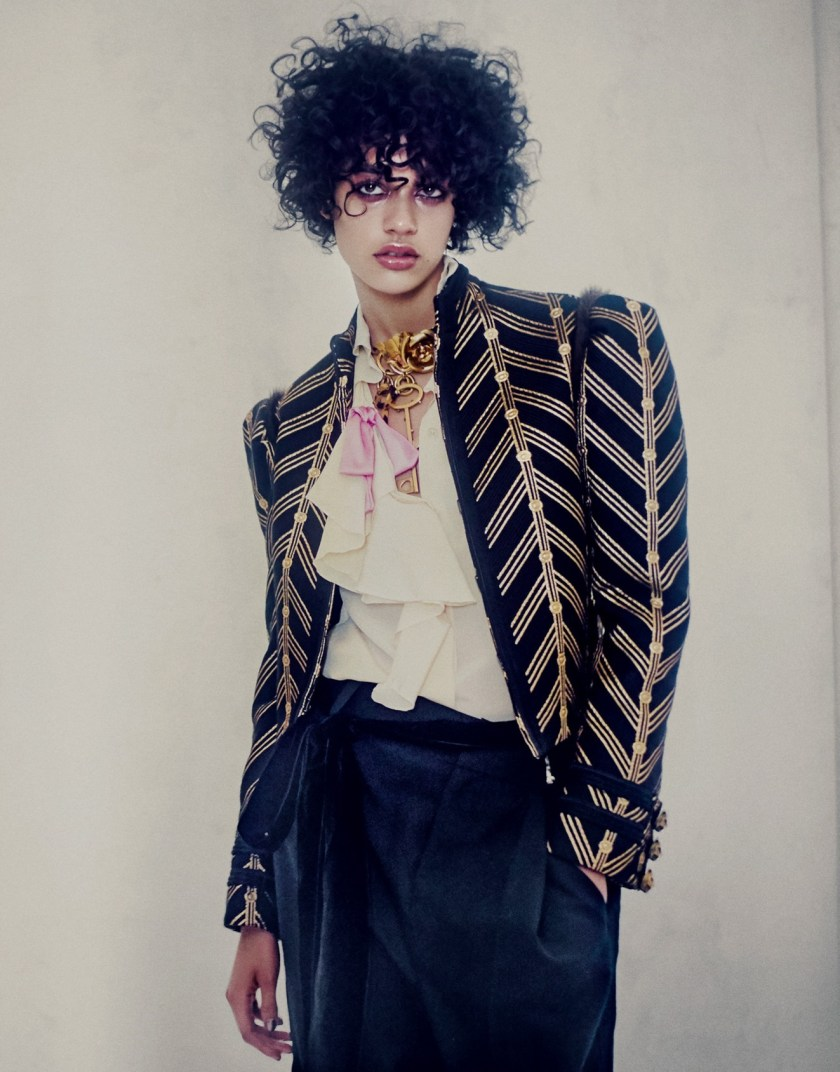 PORTER MAGAZINE Damaris Goddrie by Drew Jarrett. Julia von Boehm, Fall 2016, www.imageamplified.com, Image Amplified6