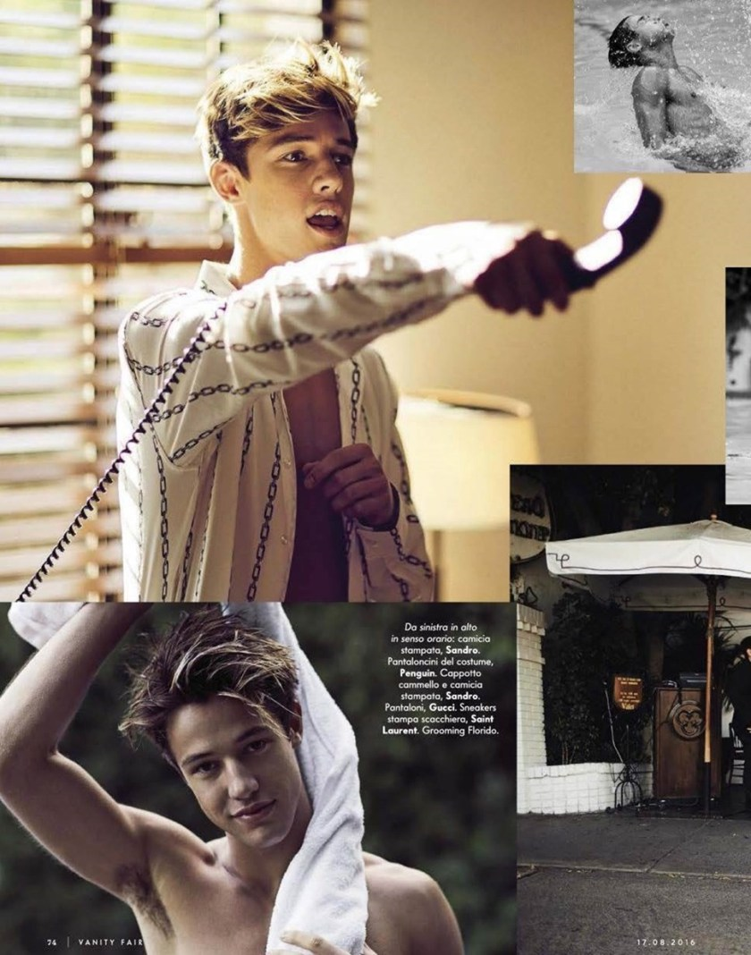 VANITY FAIR ITALIA CAmeron Dallas by Mike Rosenthal. Wyman Chang, Summer 2016, www.imageamplified.com, Image Amplified (4)