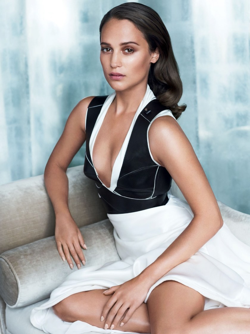 VANITY FAIR MAGAZINE Alicia Vikander by Mario Testing. Jessica Diehl, September 2016, www.imageamplified.com, Image Amplified1