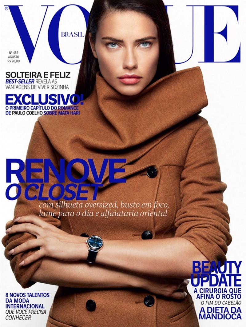 VOGUE BRAZIL Adriana Lima by Greg Kadel. Daniel Ueda, August 2016, www.imageamplified.com, Image Amplified3