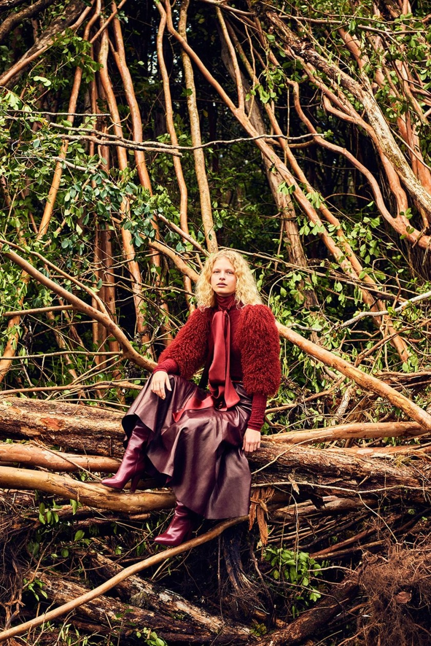 VOGUE CHINA Frederikke Sofie by Ryan McGinley. Daniela Paudice, September 2016, www.imageamplified.com, Image Amplified9