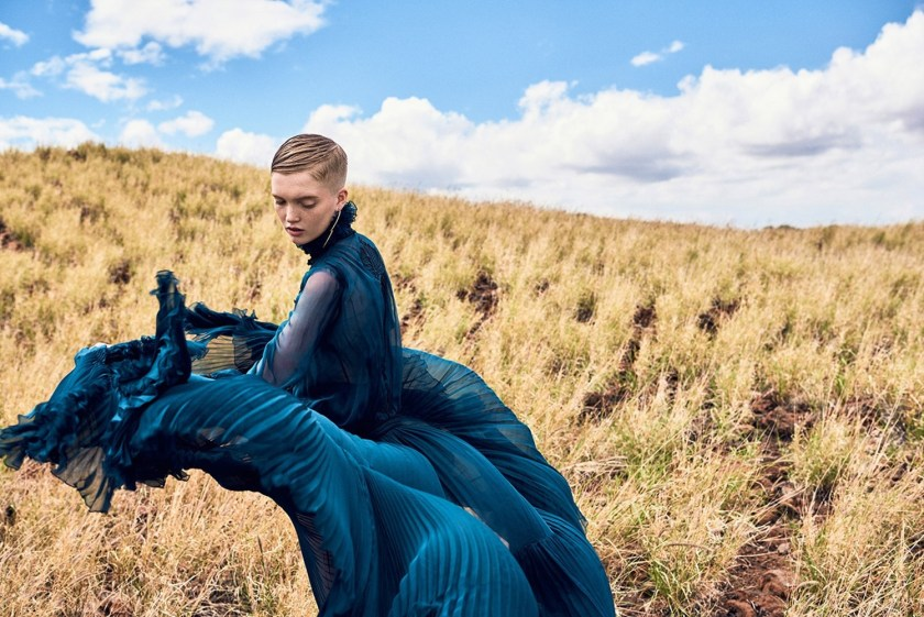 VOGUE CHINA Ruth Bell by Ryan McGinley. Daniela Paudice, September 2016, www.imageamplified.com, Image Amplified1
