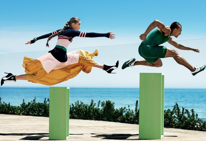 VOGUE MAGAZINE Gigi Hadid & Ashton Eaton by Mario Testino. Tonne Goodman, August 2016, www.imageamplified.com, Image Amplified11