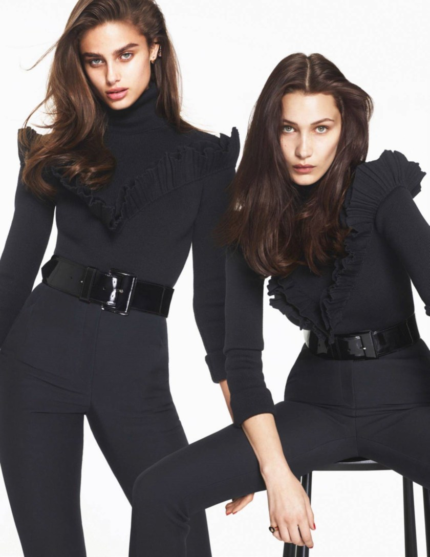VOGUE PARIS Bella Hadid, Jena Goldsack & Taylor Hill by Mert & Marcus. Emmanuelle Alt, September 2016, www.imageamplified.com, Image Amplified1