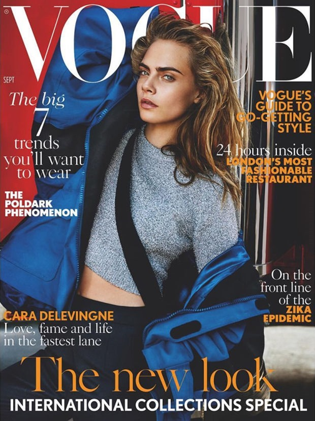 VOGUE UK Cara Delevingne by Mario Testing. Lucinda Chambers, September 2016, www.imageamplified.com, Image Amplified1