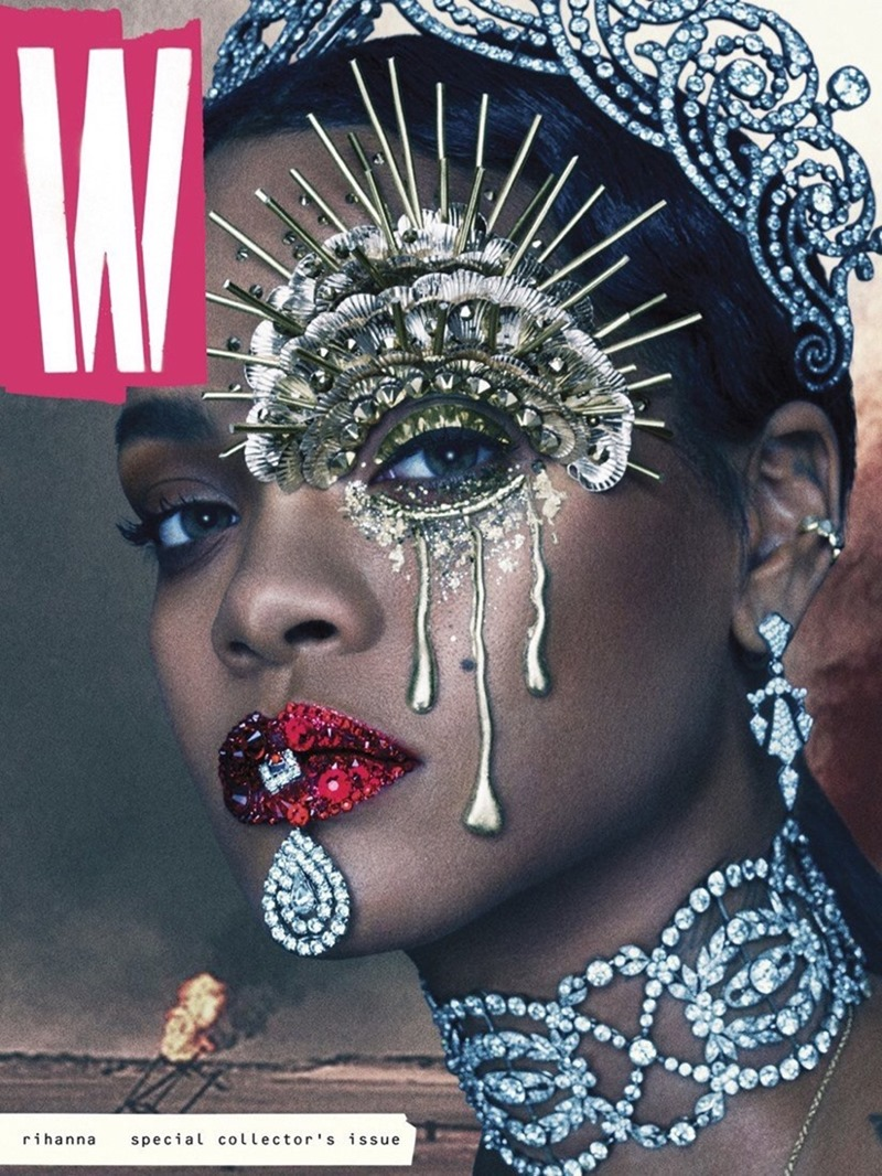 W MAGAZINE Rihanna by Steven Klein. Edward Enninful, September 2016, www.imageamplified.com, Image Amplified (1)