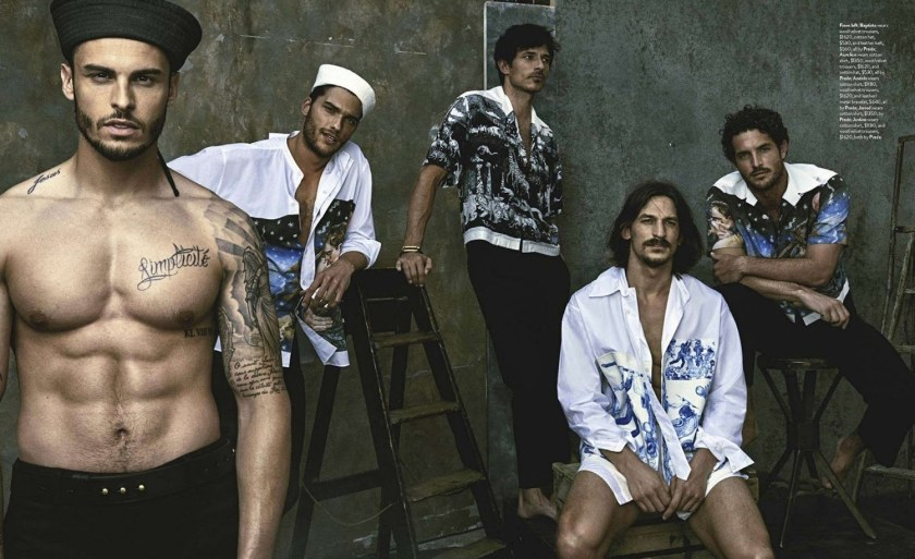 GQ AUSTRALIA Five of a Kind by Mariano Vivanco. Brad Homes, September 2016, www.imageamplified.com, Image Amplified (19)