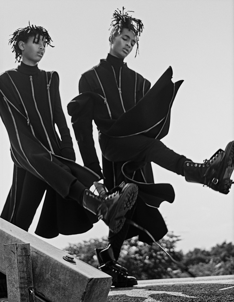 INTERVIEW MAGAZINE Jaden Smith & Willow Smith by Steven Klein. Karl Templer, September 2016, www.imageamplified.com, Image Amplified (8)