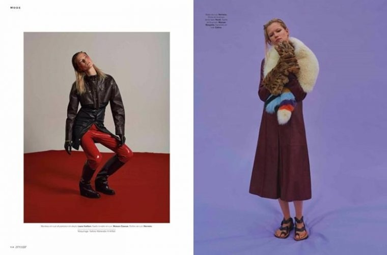 STYLIST MAGAZINE Adela Stenberg & Kasia Struss by Leo Siboni & Suzie Q. Belen Casadevall, September 2016, www.imageamplified.com, Image Amplified (9)