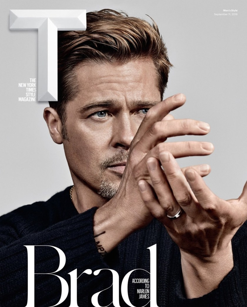 T STYLE MAGAZINE Brad Pitt by Craig McDean. Jason Rider, Fall 2016, www.imageamplified.com, Image Amplified (4)