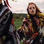 VOGUE CHINA: Julia Banas & Alexandra Elizabeth by Yelena Yemchuk