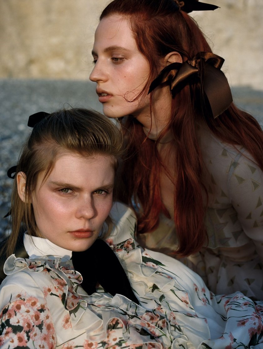 VOGUE CHINA Julia Banas & Alexandra Elizabeth by Yelena Yemchuk. Katie Shillingford, October 2016, www.imageamplified.com, Image Amplified (2)