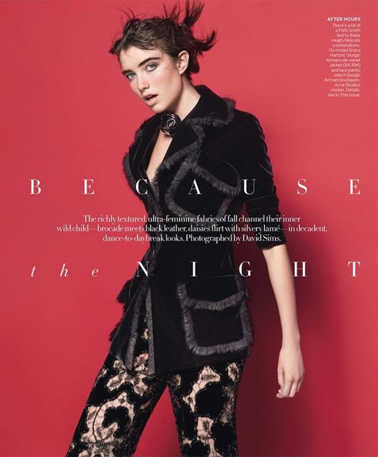 VOGUE MAGAZINE Grace Hartzel by David Sims. Camilla Nickerson, September 2016, www.imageamplified.com, Image amplified (1)